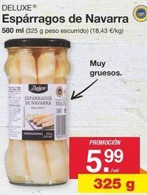 Oferta de Espárragos Deluxe por 5.99€