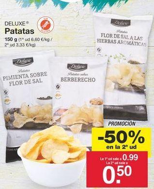 Oferta de Patatas fritas Deluxe por 0.99€