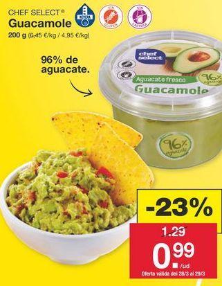 Oferta de Guacamole chef select por 1.29€