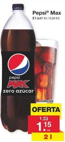 Oferta de Pepsi por 1.15€