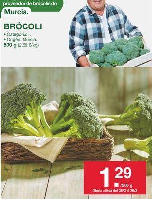 Oferta de Brócoli por 1,29€