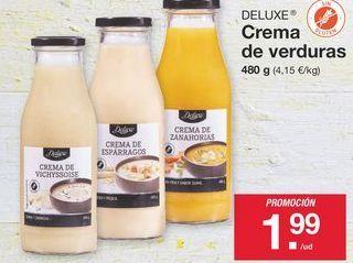 Oferta de Crema de verduras Deluxe por 1.99€