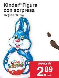 Oferta de Chocolate Kinder por 2.89€