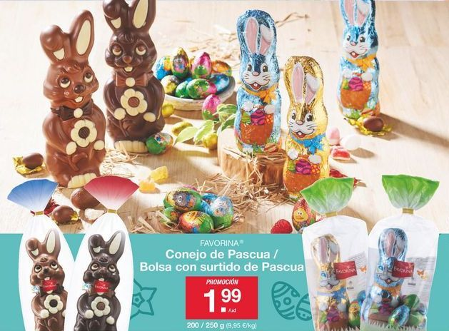 Oferta de Chocolate Favorina por 1.99€
