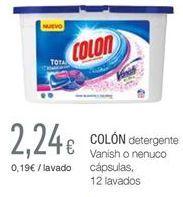 Oferta de Detergente en cápsulas Colon por 2.24€
