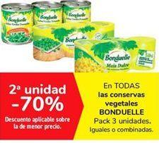 Oferta de En TODAS las conservas vegetales BONDUELLE por