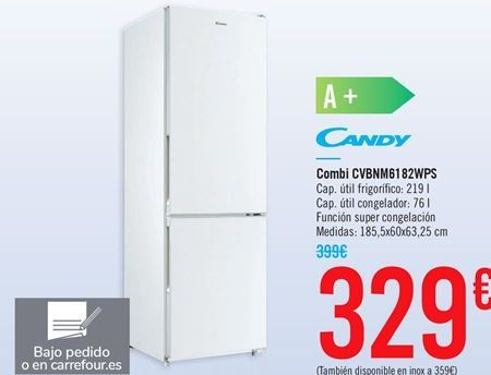 Oferta de Combi CVBNM6182WPS por 329€