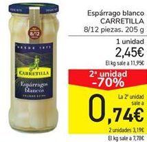 Oferta de Espárragos blancos Carretilla por 2.45€