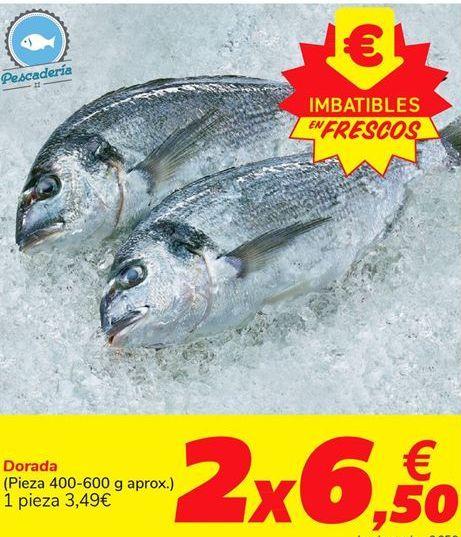 Oferta de Dorada por 3,49€