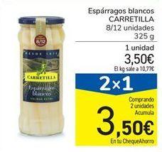 Oferta de Espárragos blancos Carretilla por 3.5€