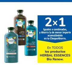 Oferta de En TODOS los productos HERBAL ESSENCES Bio Renew. por