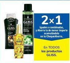 Oferta de En TODOS los productos GLISS por