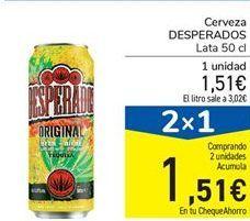 Oferta de Cerveza Desperados por 1.51€
