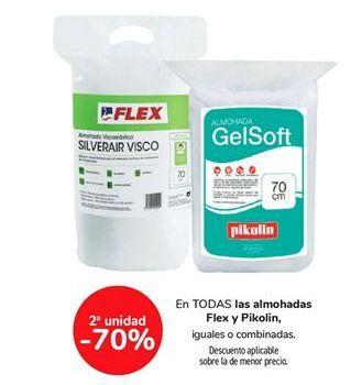 Oferta de En TODAS las almohadas Flex y Pikolin, iguales o combinadas  por