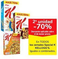 Oferta de En TODOS los cereales Special K KELLOGG'S por