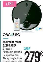 Oferta de Aspirador robot 3290 LASER CECOTEC por 279€