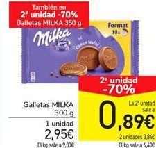 Oferta de Galletas Milka por 2,95€