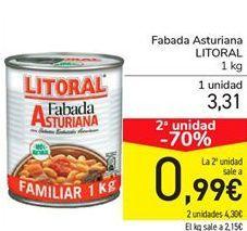Oferta de Fabada Asturiana LITORAL por 3,31€