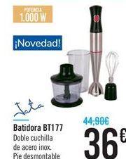 Oferta de Batidora bt177 Jata por 36€