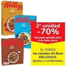 Oferta de En TODOS los cereales All-Bran KELLOGG'S por