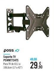 Oferta de Soporte TV PSWMT734TS  por 29,9€