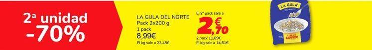 Oferta de LA GULA DEL NORTE por 8,99€