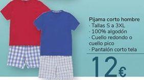 Oferta de Pijama corto hombre por 12€