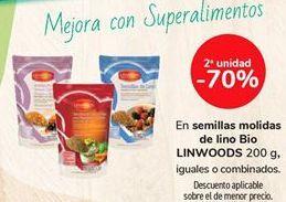 Oferta de En semillas molidas de lino Bio LINWOODS por