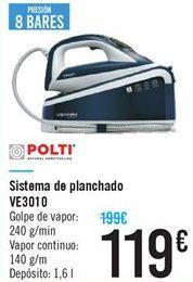 Oferta de Sistema de planchado VE3010 por 119€