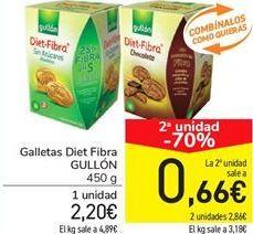 Oferta de Galletas Diet Fibra GULLÓN por 2,2€