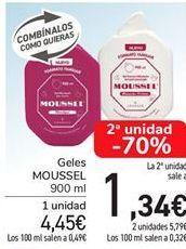 Oferta de Gel Moussel  por 4,45€