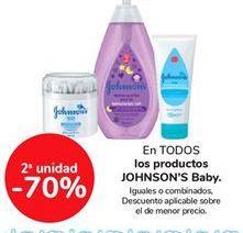 Oferta de En TODOS los productos JOHNSON'S Baby por