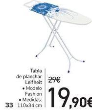 Oferta de Tabla de planchar LEIFHET por 19,9€
