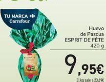 Oferta de Huevo de Pascua ESPRIT DE FÊTE por 9,95€