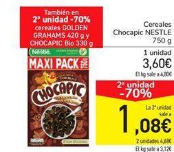 Oferta de Cereales Chocapic NESTLE por 3,6€