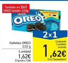 Oferta de Galletas Oreo por 1,62€