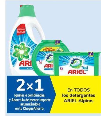 Oferta de En TODOS los detergentes ARIEL Alpine por