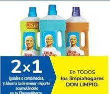 Oferta de En TODOS los limpiahogares DON LIMPIO. por