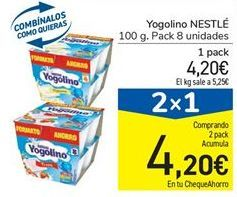 Oferta de Yogur Nestlé por 4,2€
