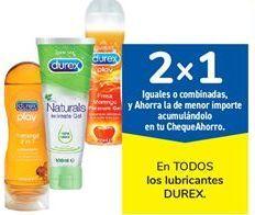 Oferta de En todos los lubricantes Durex por