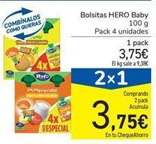 Oferta de Bolsitas Hero Baby por 3.75€