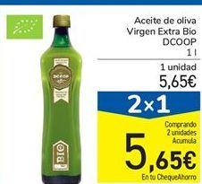 Oferta de Aceite de oliva Virgen Extra Bio DCOOP 1 l por 5,65€