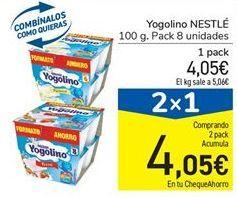 Oferta de Yogur Nestlé por 4,05€