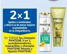 Oferta de En TODOS los champús PANTENE 3 en 1, acondicionadores, mascarillas y champús PANTENE Miracle y fi jación PANTENE por