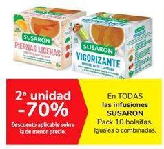 Oferta de En TODAS las infusiones SUSARON  por