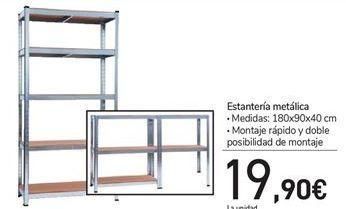 Oferta de Estantería metálica  por 19.9€