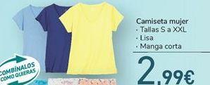 Oferta de Camiseta mujer  por 2,99€