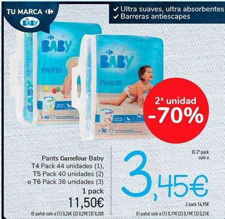Oferta de Pants Carrefour Baby por 11.5€