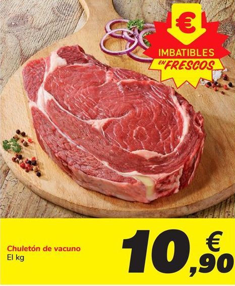 Oferta de Chuletón de vacuno por 10,9€
