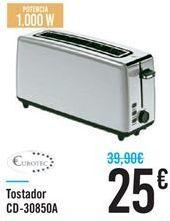 Oferta de Tostador CD-30850A por 25€
